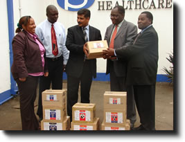 Vet Products to the Ministry of Agriculture